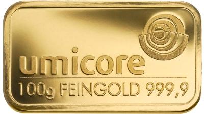 Een goudbaar van 100 gram uit voorraad te koop bij CD Juwelier