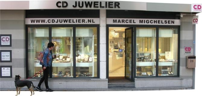 CD Juwelier is een winkel in Kerkrade-Centrum