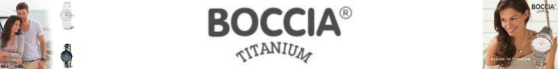 Boccia titanium dameshorloges en herenhorloges