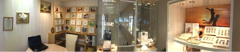 Honderden trouwringen in de showroom van CD Juwelier