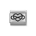 33010205 hart-infinity silver shine schakel Nomination