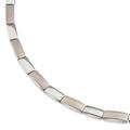 08043-01 titanium collier mat-glimmend Boccia