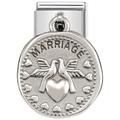 33180409 Nomination Hangend Huwelijk Mariage Zilver