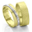 Mathisse gouden trouwringen