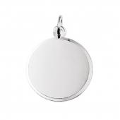 10.05763 ronde zilveren fotomunt 20 mm