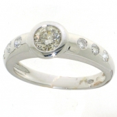 3779_102 witgouden damesring met 1.02 crt. briljant bij CD Juwelier