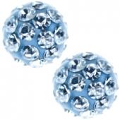 241 Oorknoppen Firebal Blue 4.5 mm