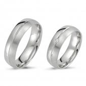500760.02 mooie bolle zilveren ringen van Flamingo