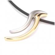 07001-03 Boccia titanium bicolour hanger