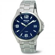 3591-03 herenhorloge saffierglas blauwe wijzerplaat