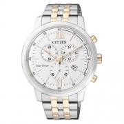 AT2305-81A bicolour herenhorloge Citizen saffierglas
