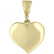 Hanger hart goud 216120025