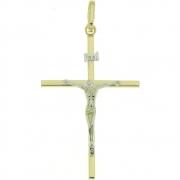 Hanger kruis met corpus goud 256620013