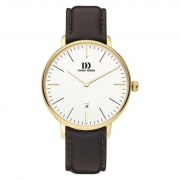 1175 doublé herenhorloge leren band Danish Design IQ15Q1175
