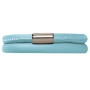 12111-38 double light blue bracelet Endless