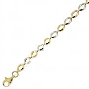 Armband en collier goud open schakels 19+45 cm 253060828 251077301