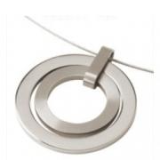 0741-01 ronde hanger titanium Boccia