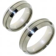 Titanium 10013 brede trouwringen