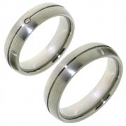 Titanium 10015 tijdloos model trouwringen