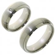 Titanium 10017 trouwringen 7 mm breed