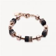 1328 armband Black-Rosegold Coeur de Lion 4015301328