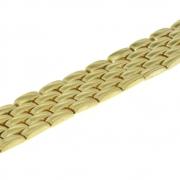 46.5 brede zware armband geelgoud