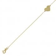 armband dun hart geelgoud VIJ 0864