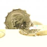 .5.2 gram nostalgische gouden Kennedy ring