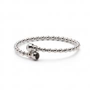 BL007 elegante zilveren armband met subtiel verwerkte as van iemand die U dierbaar is