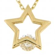 Collier met ster VI8 6508 Ambacht goud
