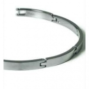 0319-03 strakke titanium armband