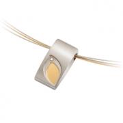 07004-03 hanger tulp met 0.02 crt. briljant Boccia titanium
