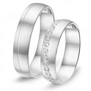 8736 relatieringen Alliance zilver