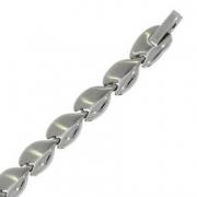 s 53189 19+45 cm stalen collier en armband mooie vorm