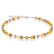0100 collier Yellow Coeur de Lion 4016100100