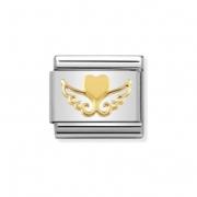 03011620 hart met vleugels charm Nomination