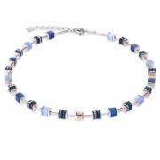 0700 collier Blue Coeur de Lion 4928100700