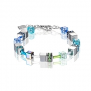 0705 armband Blue-Green Coeur de Lion 4015300705