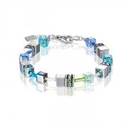 0705 armband Blue-Green Coeur de Lion 4015300705