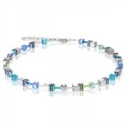0705 collier Blue-Green Coeur de Lion 4015100705