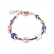 0710 armband Blue-Beige Coeur de Lion 4945300710