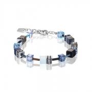 0737 armband Blue-Aqua Coeur de Lion 2838300737