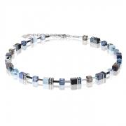 0737 collier Blue-Aqua Coeur de Lion 2838100737