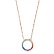 1500 collier Multicolour Coeur de Lion 4957101500