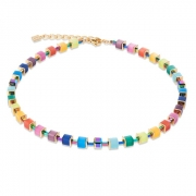 1535 collier Multicolour Rainbow-Gold Coeur de Lion 4947101535