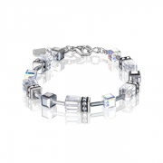 1817 armband Crystal-Silver Coeur de Lion 4015301817