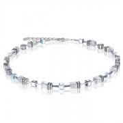 1817 collier Crystal-Silver Coeur de Lion 4015101817