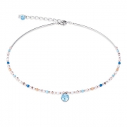 2007 collier Aqua-Blue Coeur de Lion 4951102007
