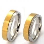 Verguld Multi Zirconia 60351 trouwringen te koop nabij Heerlen bij CD Juwelier