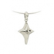 1040 ashanger kruis zilver of goud